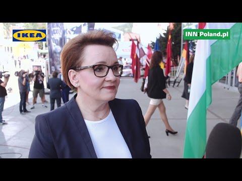 Wywiad z minister Anną Zalewską