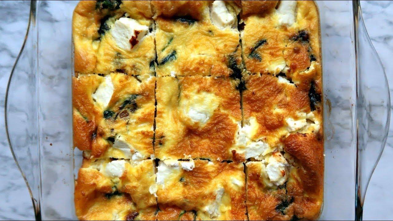 Keto Vegetarian Breakfast Casserole Easy Low Carb Breakfast Ideas