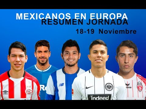 MEXICANOS EN EUROPA RESUMEN DE LA JORNADA 18 Y 19 NOVIEMBRE