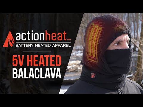 ActionHeat Battery Heated 5-in-1 Balaclava - TheWarmingStore