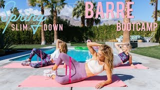 Inner & Outer Thigh BARRE Bootcamp | Spring Slim Down