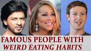 Celebrities With Bizarre Eating Habits Boldsky