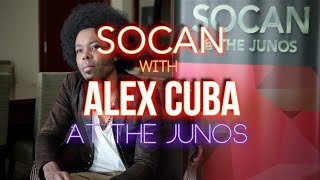 Alex Cuba - With SOCAN at The JUNOs