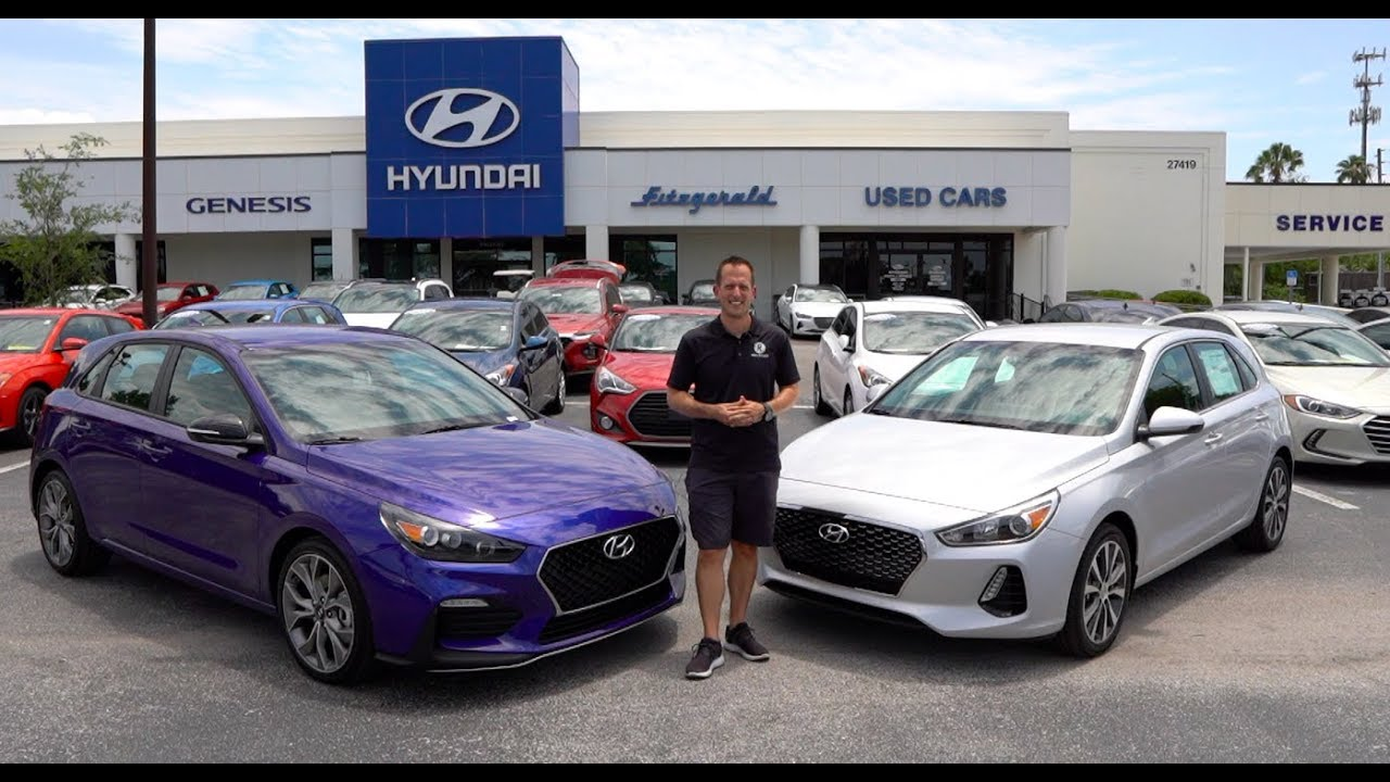 Is The 2019 Hyundai Elantra Gt N Line Worth The Extra Money Youtube