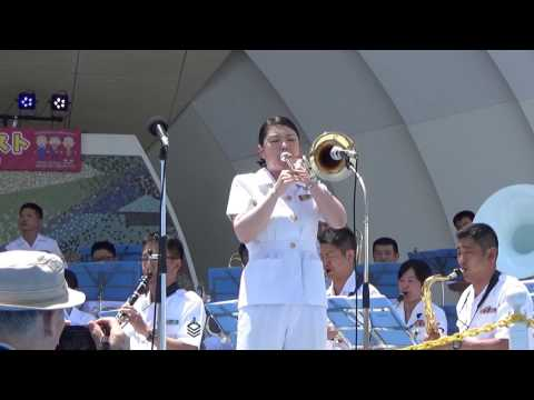 ABBA Dancing Queen  Japanese Navy Band