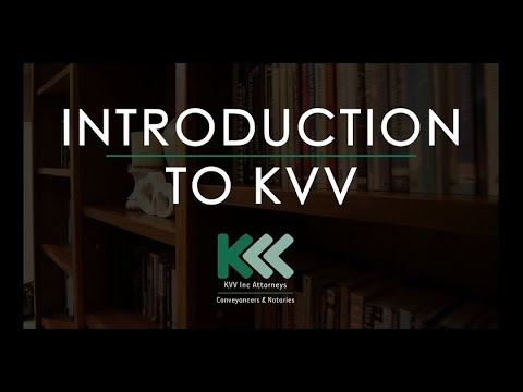 INTRODUCTION TO KVV Inc