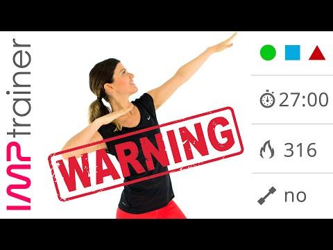 Mega Tabata Workout:  Allenamento HIIT  Total Body ad Alto Impatto