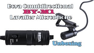 Boya Microphone BY M1 Unboxing