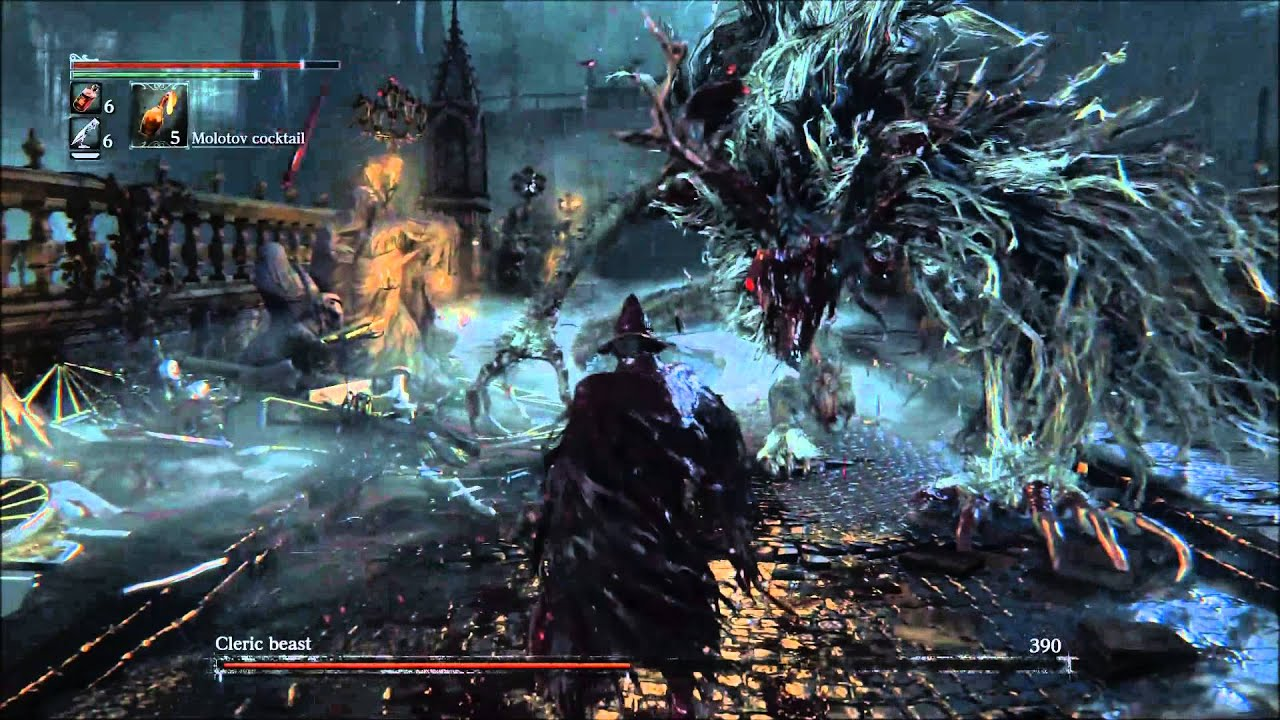 Bloodborne Cleric Beast Boss Alpha Test Gameplay Full Hd