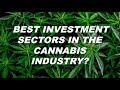 Best Investment Sectors in Cannabis Industry?
