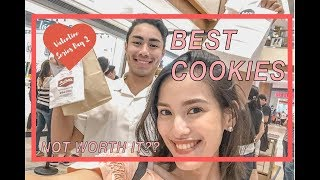 COOKIE MUKBANG!?   Best Cookies in Manila + First Impressions (Philippines 2019)