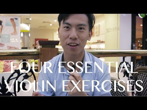 Eddy Reveals the 4 Most Essential Violin Exercises