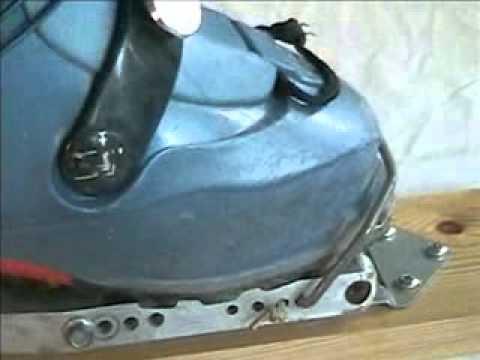 Grease Ramer Model R Alu Antique Ski Binding