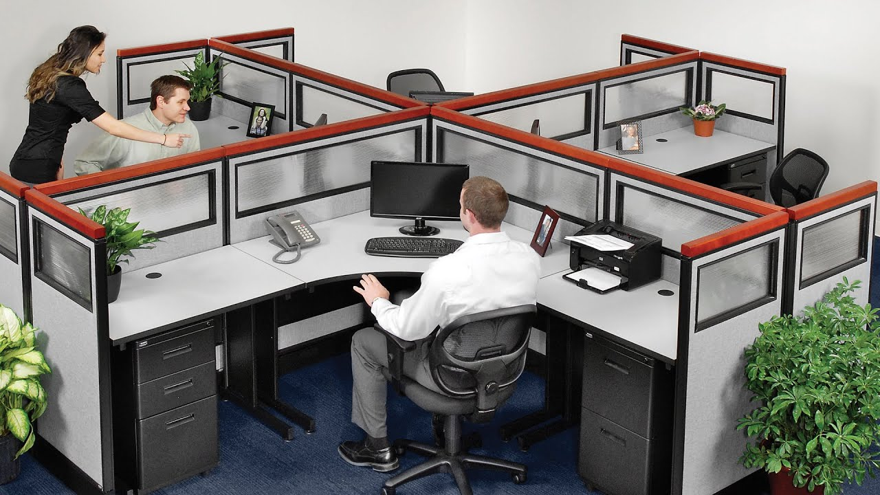 Exceptionnel How To Assemble Office Partitions U0026 Room Dividers From Global Industrial