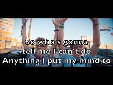 Jack and Jack - California Karaoke Acoustic Guitar Instrumental Backing Track + Lyrics