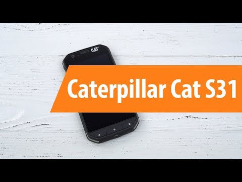 97672b50519d5 Распаковка Caterpillar Cat S31 / Unboxing Caterpillar Cat S31 - YouTube