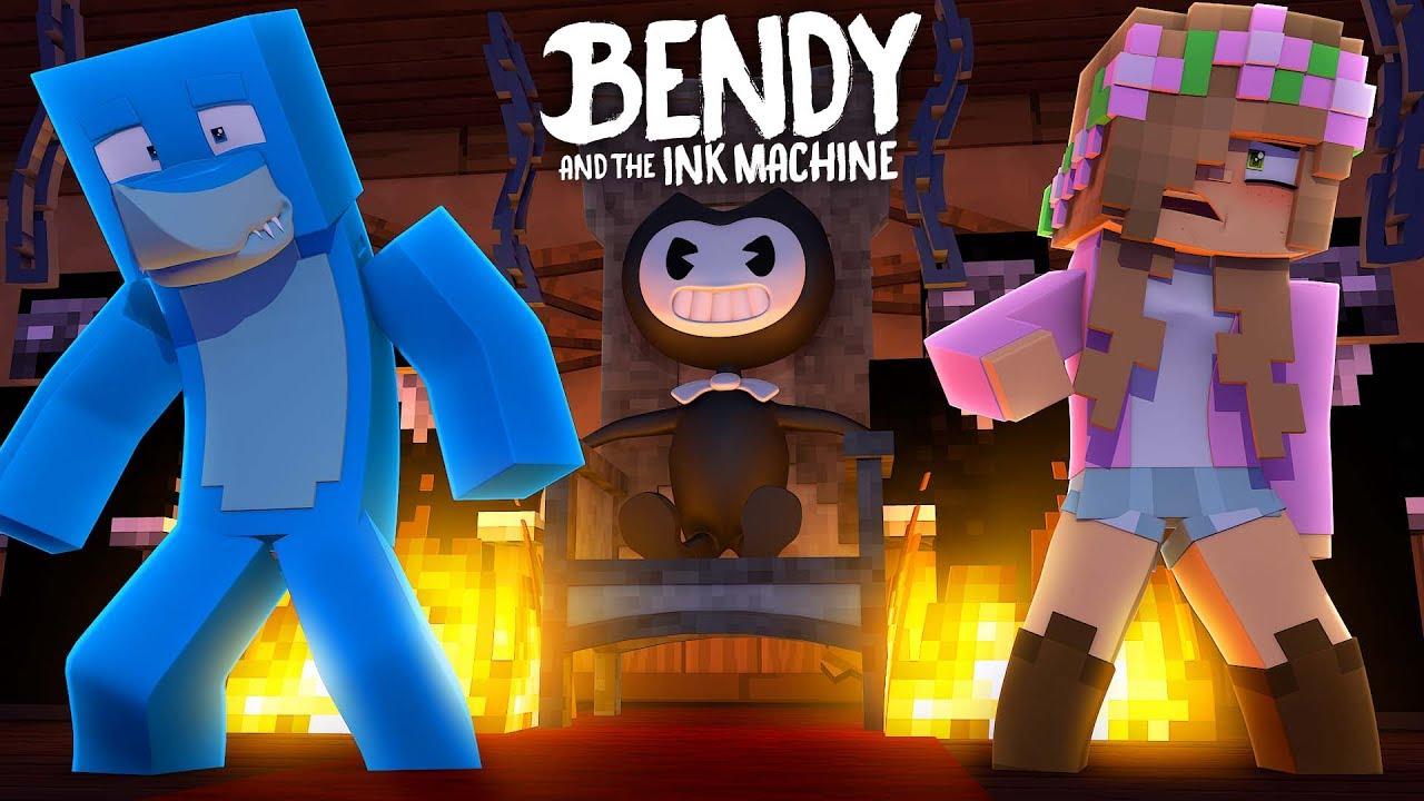 Bendy Turns Baby Ellie Into A Statue Minecraft W