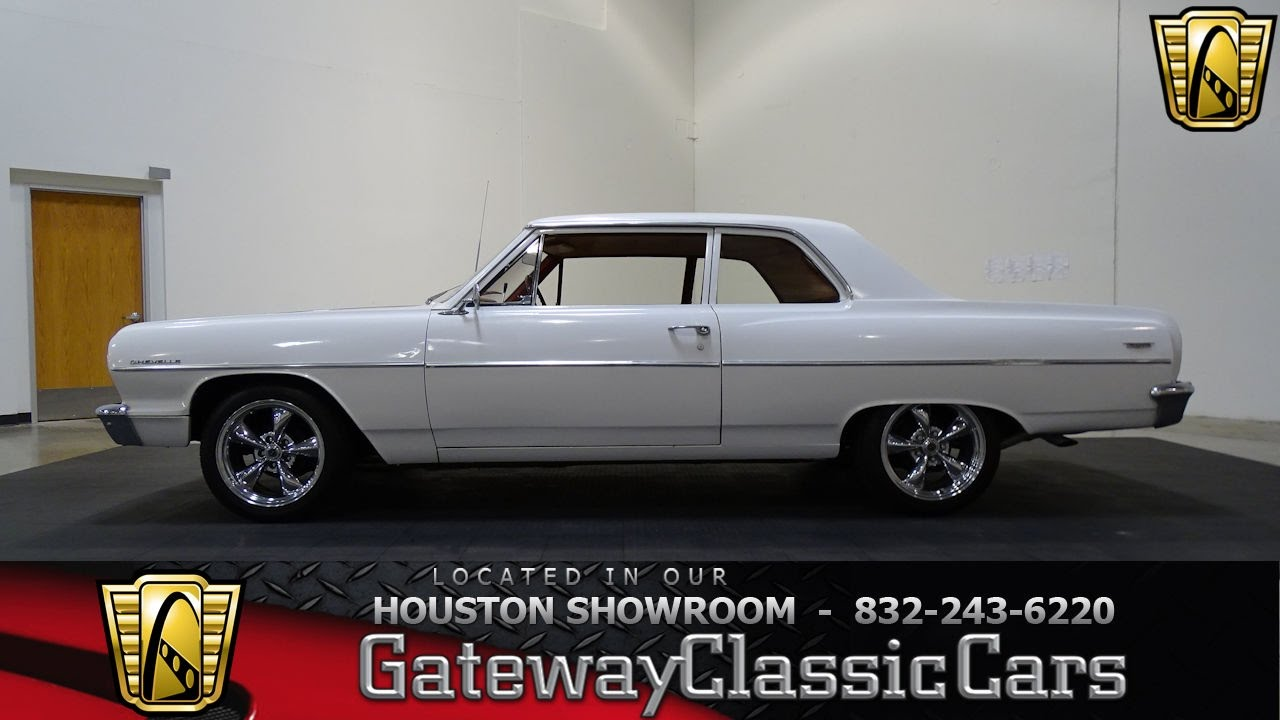 Hou Chevrolet Chevelle Gateway Classic Cars Houston Youtube