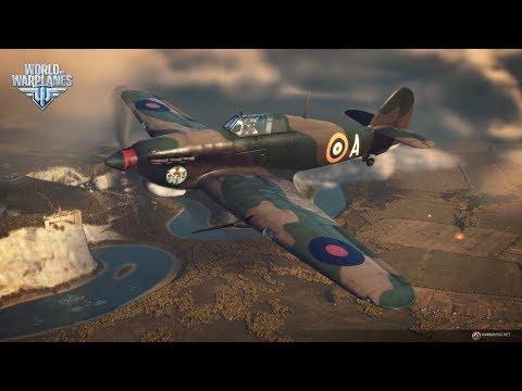 World Of Warplanes 2.0 || Hurricane IID