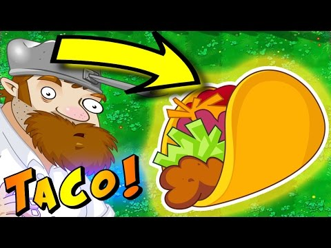 BEATING THE FINAL BOSS IN  Plants VS Zombies 2 | TAKING BACK MY TACO!!!