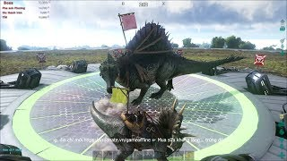 ARK: Survival Of The Fittest #3 - Đi Săn Khủng Long Gai Spinosaurus Lấy Sữa =))