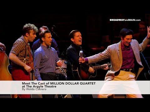 Meet The Cast Of Million Dollar Quartet At The Argyle Theatre