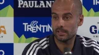 Bayern Münchens Trainer Pep Guardiola Bestätigt Interesse an Thiago Alcantara Voll
