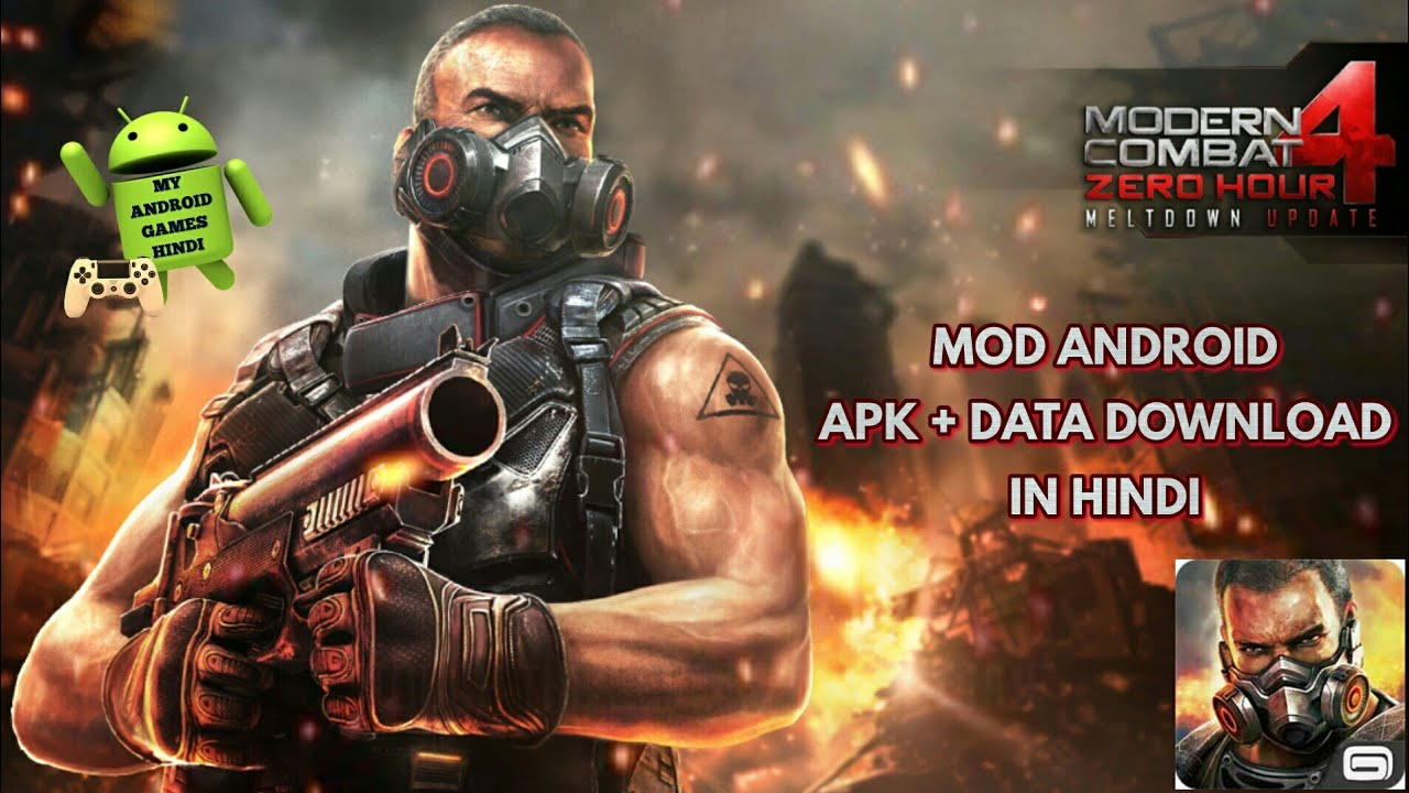 Modern Combat 4 Zero Hour Mod Android Game Download And Install In