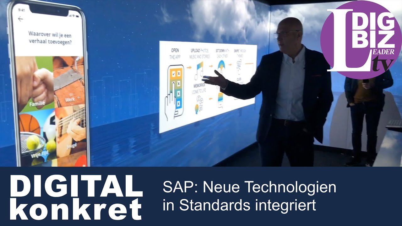 DIGITAL konkret: Neue Technologien von SAP in Standards integriert