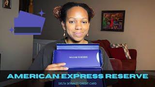 American Express Reserve | Delta SkyMiles Credit Card