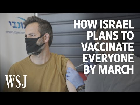 Israel Plans To Vaccinate Everyone By March. Here's How. | WSJ