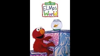 Elmo's World: Dancing, Music & Books (2000 DVD)