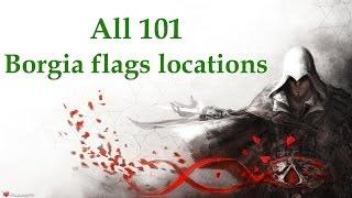 """Assassin's Creed: Brotherhood"", All 101 Borgia flags locations"