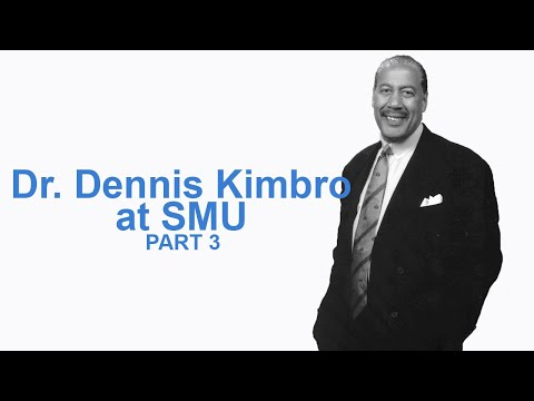 EMPOWER Series Dr Dennis Kimbro at SMU March 2011 (Part 3 of 4)