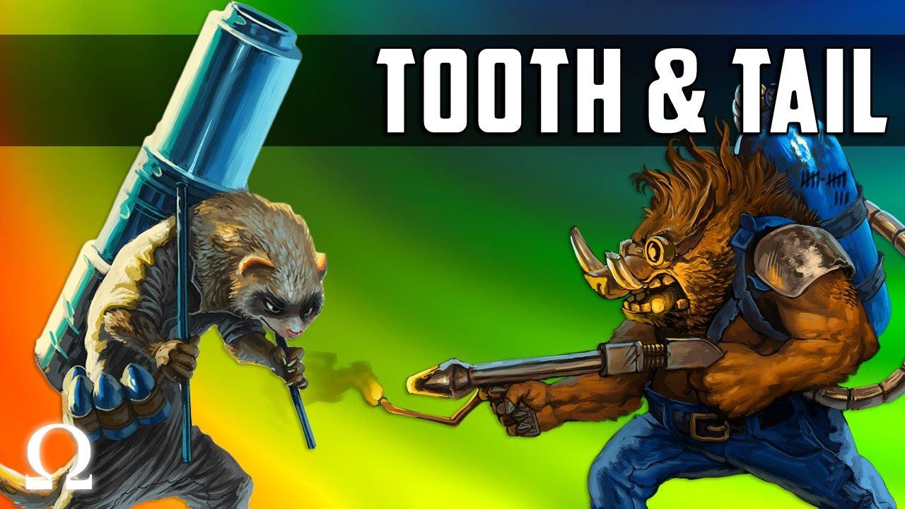 ANIMAL ARMIES, NATURE AT WAR! | Tooth & Tail Gameplay Ft. Sattelizer