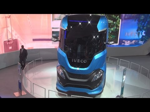 Iveco Z Truck LNG Future Truck Exterior and Interior in 3D