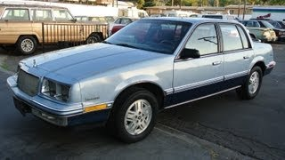 1989 Buick Skylark Custom 26,000 Orig Mi 1 Owner GM 3100 V6 Video Review 4 Sale