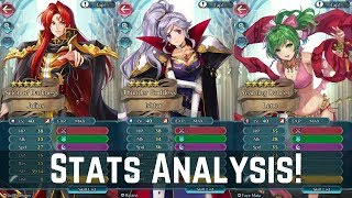 Datamined Stats of Genealogy Heroes! Ares, Ishtar, Julius & Lene! | FEH News 【Fire Emblem Heroes】