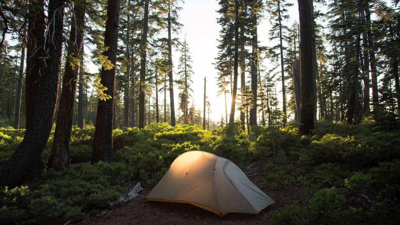 Campsites from Mexico to Canada on the Pacific Crest Trail - YouTube