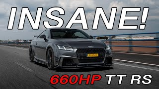660 HP TT RS - CRAZY SOUND, ACCELERATIONS, FLYBY'S & MORE!