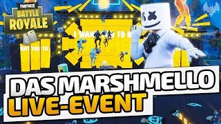 Das Marshmello Live-Event - ♠ Fortnite Battle Royale ♠ - Deutsch German - Dhalucard
