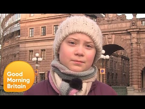 16-Year-Old Greta Thunberg's Inspiring Fight Against Climate Change   Good Morning Britain