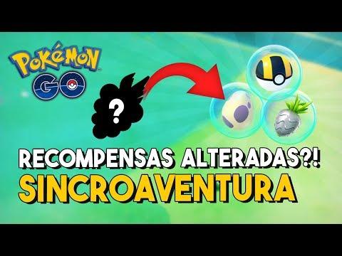 MAIS ITENS RAROS NO SINCROAVENTURA?! | Pokémon GO thumbnail