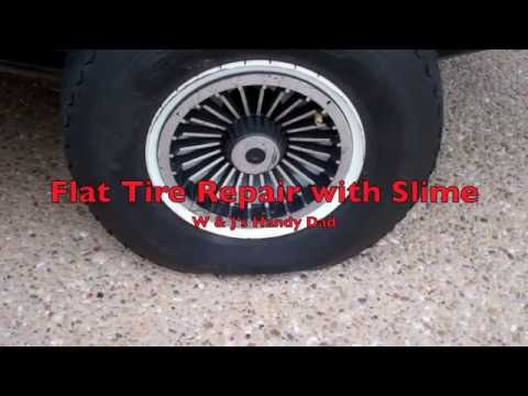 how-to-fix-a-flat-golf-cart-tire-using-slime