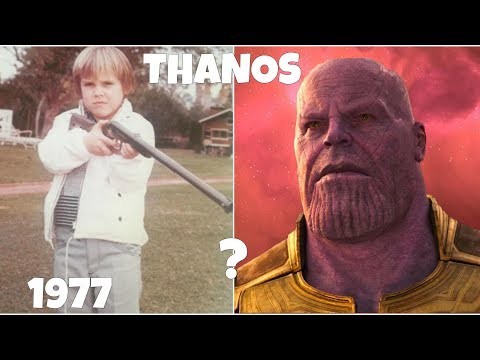 Who is Thanos, Avengers Infinity War Supervillain Transformation From Kid to Adult