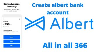 how to create alḃert bank account | best checking account 2021 | get virtual visa card by all in all