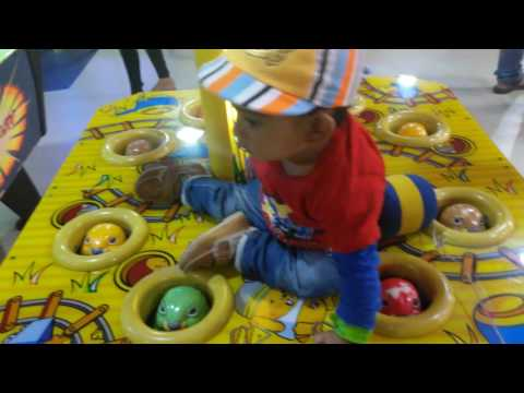 Kids at Transit Play Area in Forum Mall in bangalore