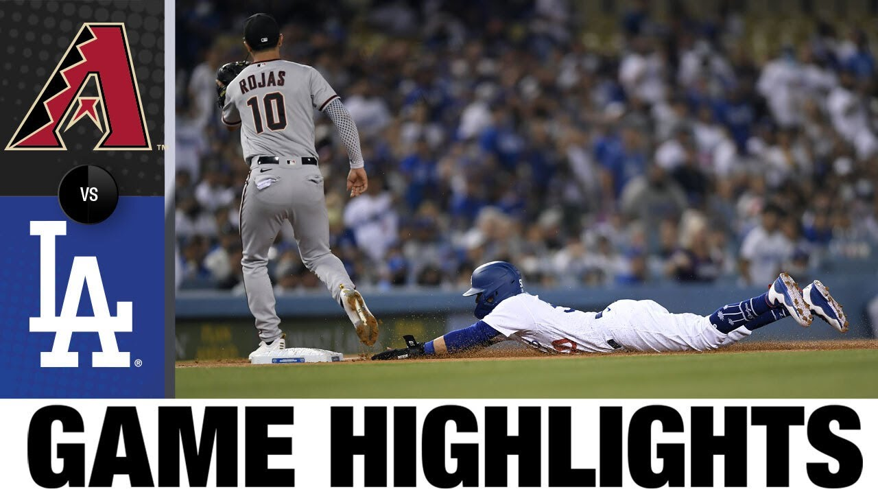 Download D-backs vs. Dodgers Game Highlights (9/13/21) | MLB Highlights