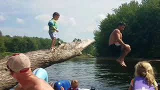 Family Canoe Trip Gone Wrong!! RESCUE 911