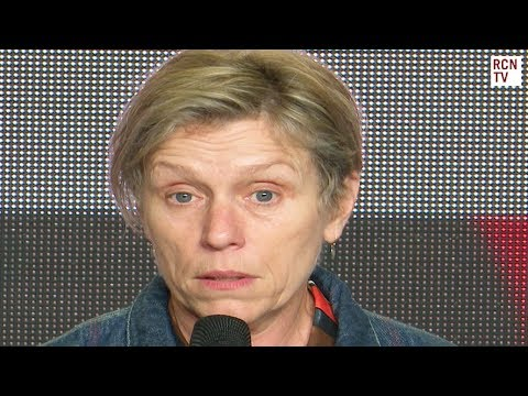 Frances McDormand Interview Three Billboards Outside Ebbing, Missouri Premiere